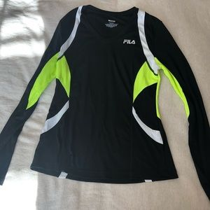 Fila running shirt